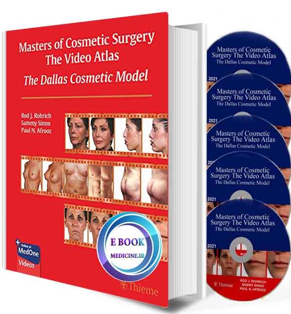 دانلود کتاب Masters of Cosmetic Surgery - The Video Atlas: The Dallas Cosmetic Model 2021 (ORIGINAL PDF+video))