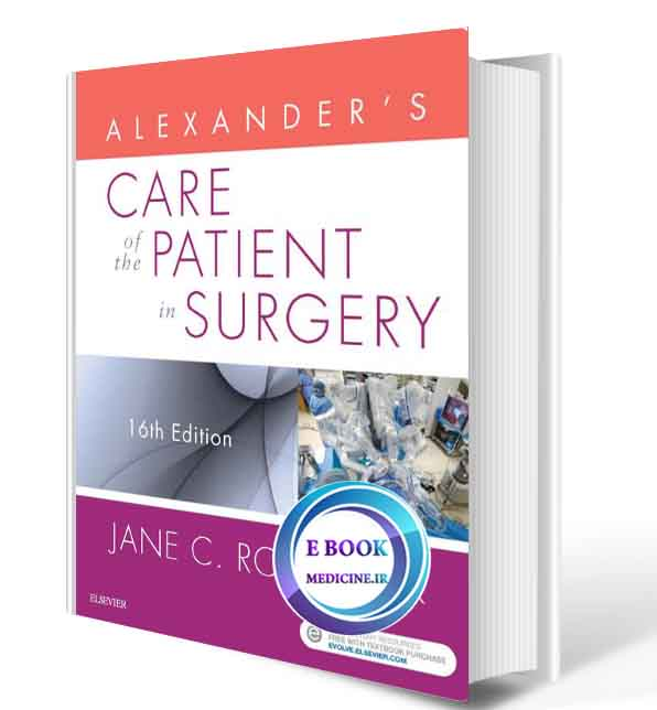 دانلود کتاب Alexander's Care of the Patient in Surgery2019( PDF)